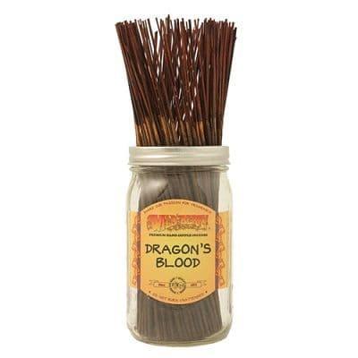 Wildberry 10 inch Dragons Blood Incense Sticks
