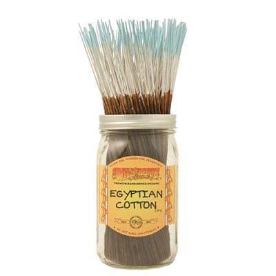 Wildberry 10 inch Egyptian Cotton Incense Sticks