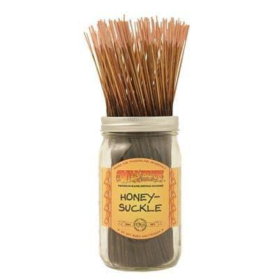 Wildberry 10 inch Honeysuckle Incense Sticks