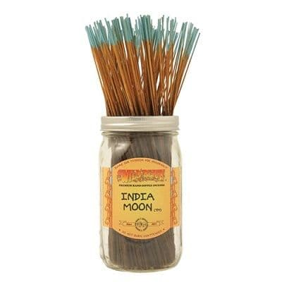 Wildberry 10 inch India Moon Incense Sticks
