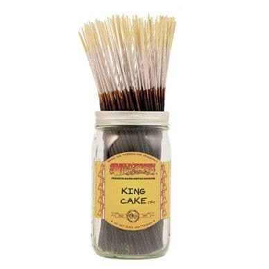 Wildberry 10 inch King Cake Incense Sticks