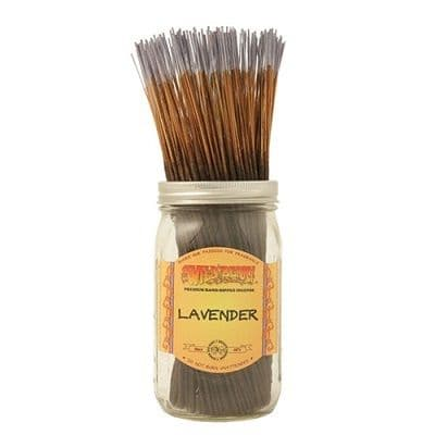 Wildberry 10 inch Lavender Incense Sticks
