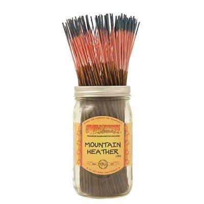 Wildberry 10 inch Mountain Heather Incense Sticks