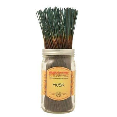 Wildberry 10 inch Musk Incense Sticks