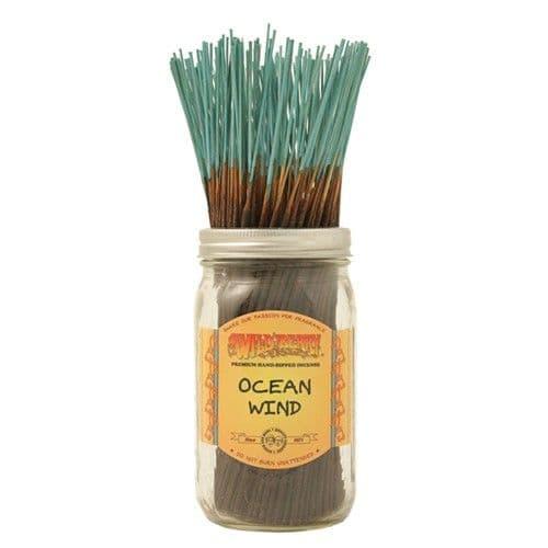 Wildberry 10 inch Ocean Wind Incense Sticks