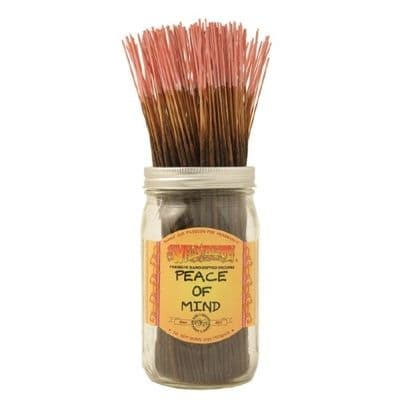 Wildberry 10 inch Peace of Mind Incense Sticks