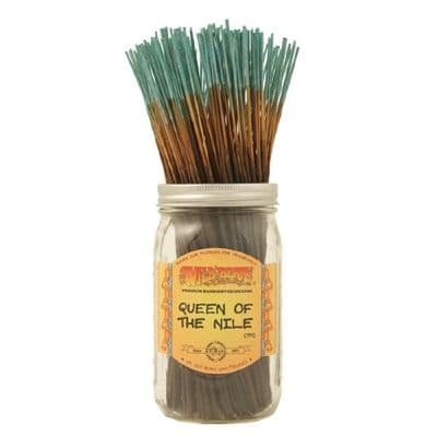 Wildberry 10 inch Queen of The Nile Incense Sticks