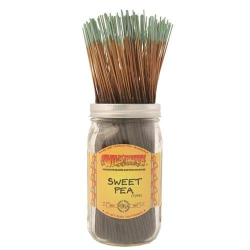 Wildberry 10 inch Sweet Pea Incense Sticks