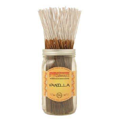 Wildberry 10 inch Vanilla Incense Sticks