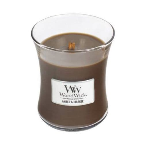WoodWick 10oz Jar Amber & Incense