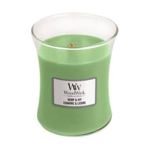 WoodWick 10oz Jar Hemp & Ivy
