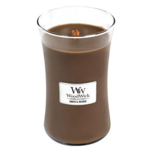 Woodwick 22oz Jar Amber & Incense