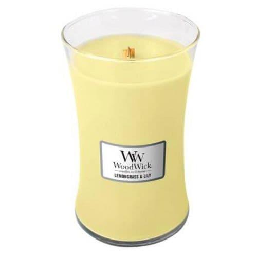 Woodwick 22oz Jar Lemongrass & Lily
