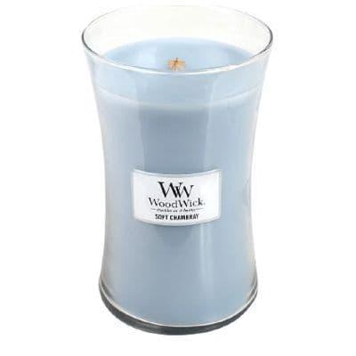 Woodwick 22oz Jar Soft Chambray