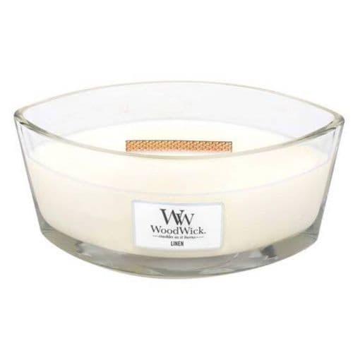 Woodwick Ellipse Candle Linen