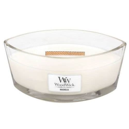 Woodwick Ellipse Candle Magnolia | Cloudsonline