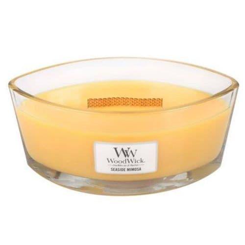 Woodwick Ellipse Candle Seaside Mimosa