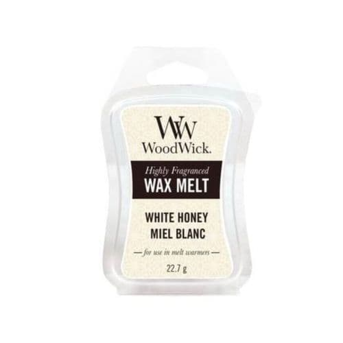Woodwick Mini Hourglass Wax Melt - White Honey