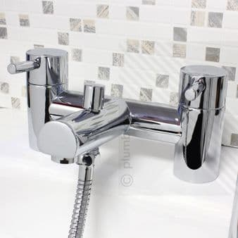 Harmony Modern Bathroom Bath/Shower Mixer Tap with Accessories