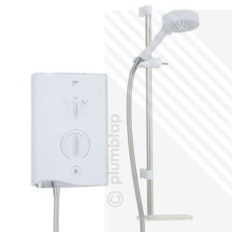 Mira Sport Multi-fit Electric Shower 9.0kW White/Chrome 1.1746.009