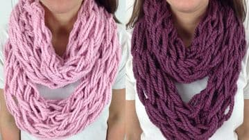 Arm Knitting Kit (Knit your own scarf)