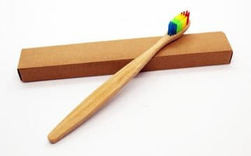 Bamboo Toothbrush - Rainbow