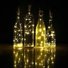 LED Cork Lights - Transforms and recycles bottles