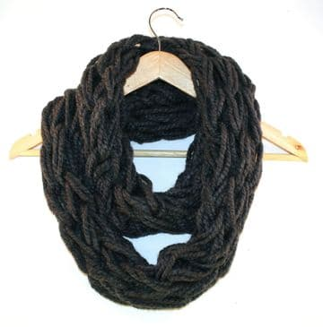 Werewolf Arm Knitted Infinity Scarf
