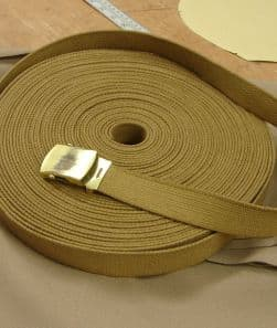 Indy' style Webbing Belt cut to size