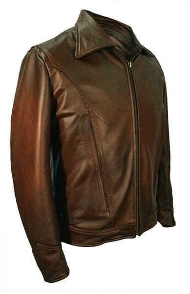 CUSTOM MADE X-Men 'Days Of Future Past' Wolverine style Leather Jacket