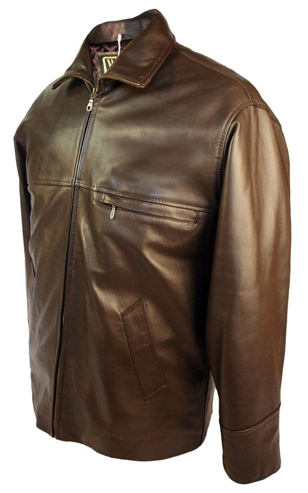 Leather Walker Jacket