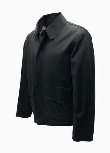 Raiders of the Lost Ark Jacket in Black Cotton