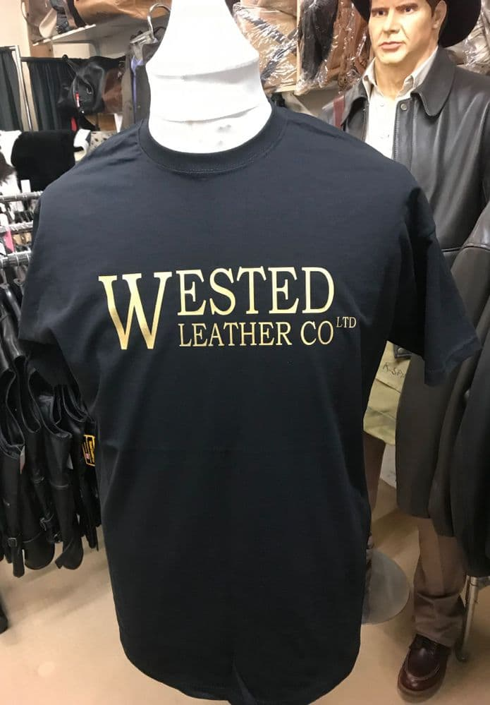 Wested Leather T Shirt