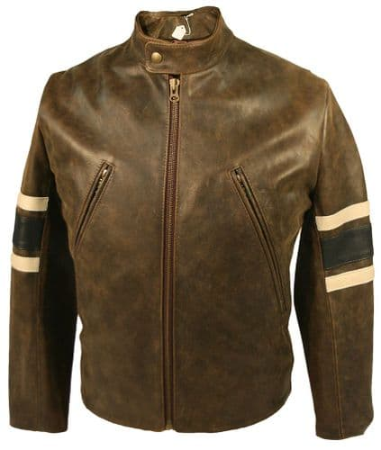 "X-Men 3 'Wolverine' Style Leather Jacket As Worn by Hugh Jackman in ""The Last Stand"""