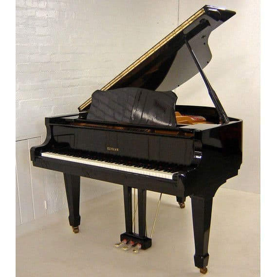 Elysian 157cm Baby Grand Piano Black c1985