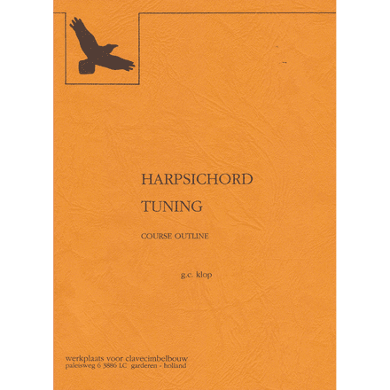 Klop, Harpsichord Tuning (Booklet)