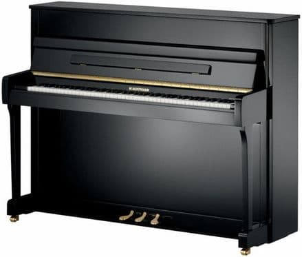 W. Hoffmann Vision V112 Traditional Upright Piano Black NEW
