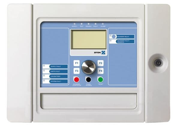 Ziton ZP2 Addressable Fire Panel - 1 loop -Small Cabinet