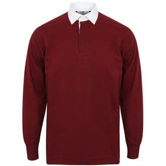 ADULT Penistone and District RC Burgundy Rugby Shirt
