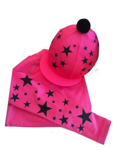Adult's Pink Base Layer & Hat Silk