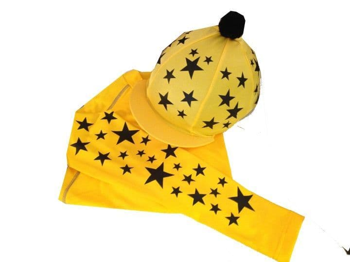 Adult's Yellow Base Layer & Hat Silk