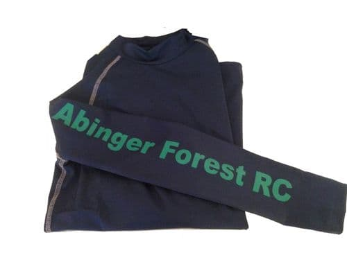 Adults Abinger Forest Riding Club Navy Base Layer