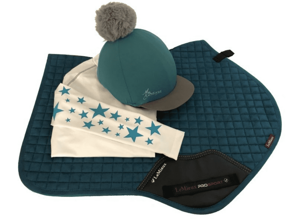 Adults LeMieux Peacock Base Layer Cross Country Colours