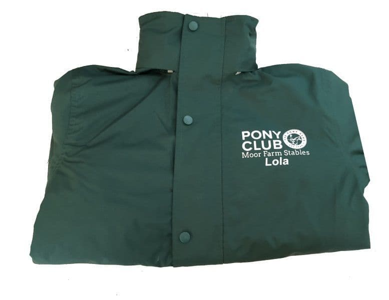 Adults Moor Farm Stables Bottle Result  R160X Jacket