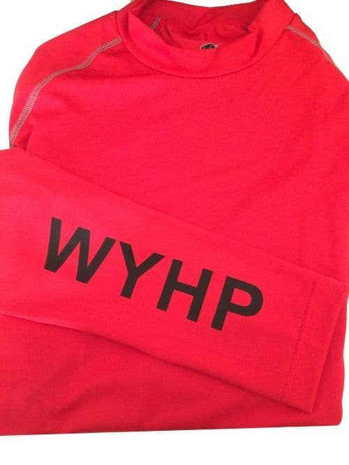 Adults West Yorkshire Horse Play Red Base Layer