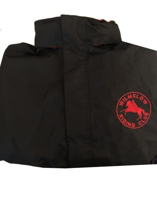 Adults Wilmslow RC clothing  SHOW TEAM Black Regatta Dover Jacket