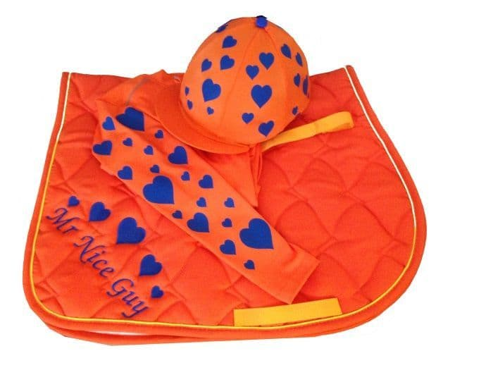 Children's Orange/Royal Base Layer Cross Country Colours