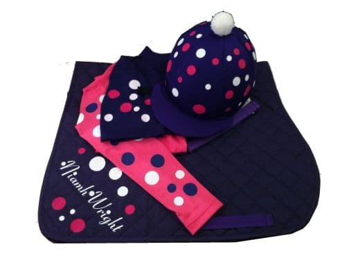 Childrens Hot Pink/Purple Base Layer Cross Country Colours