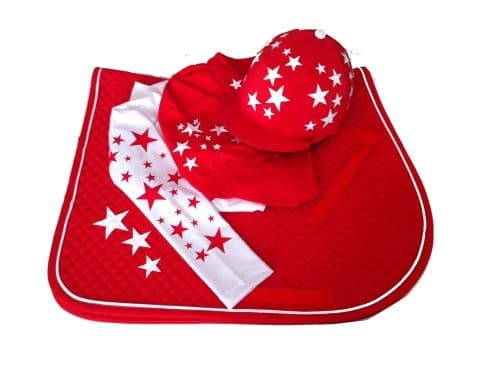 Childrens Red/White Base Layer Cross Country Colours
