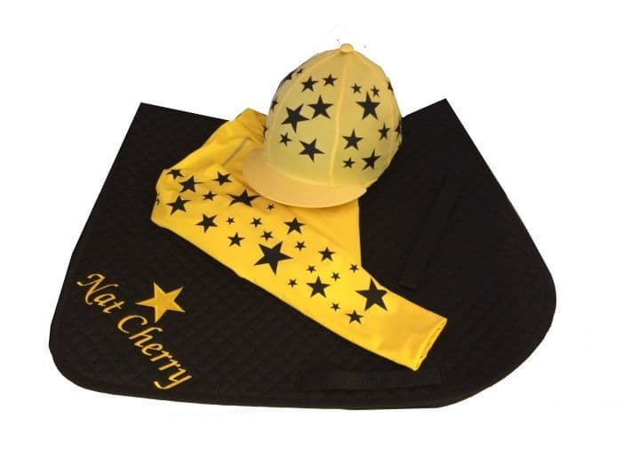 Childrens Yellow/Black Base Layer Cross Country Colours